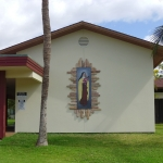 Restoration of tile Mural completed at St. Theresa Church, Kihei, Maui, HI